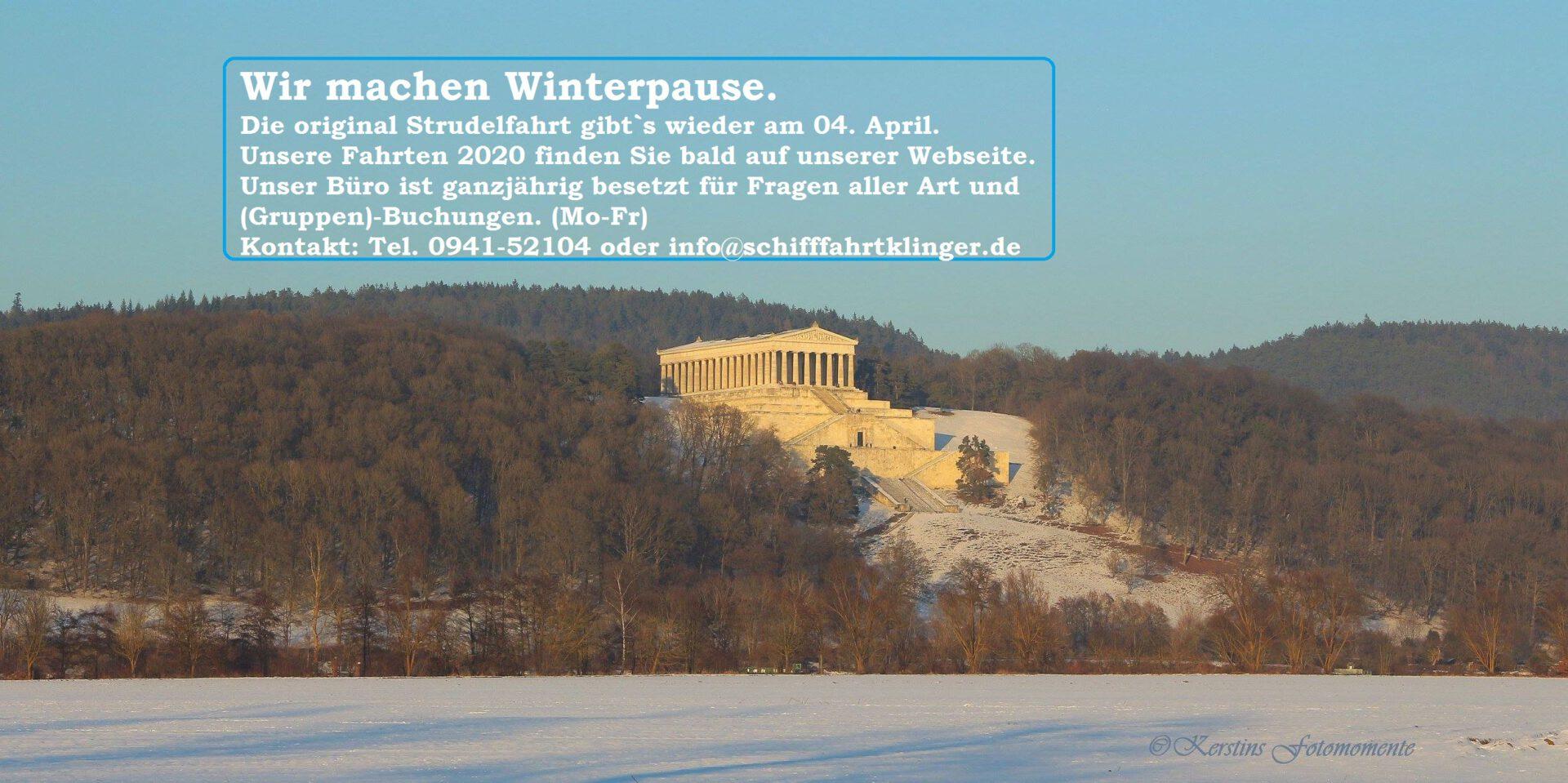 Winterpause (hier klicken für mehr Infos!)